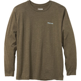 Marmot Cervin Camiseta Manga Larga Hombre, olive heather